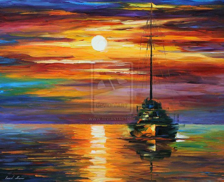 CALM SUNSET by Leonidafremov.deviantart.com on @deviantART