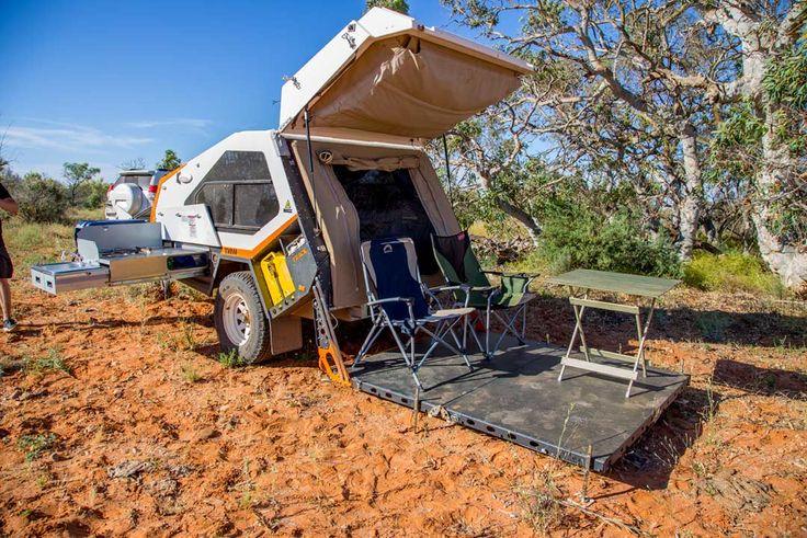 Tvan Camper Trailer - The Original Off Road Camper Trailer/Hybrid