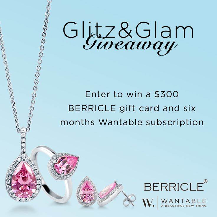 Get ready for Mother's Day with a glitzy giveaway! Enter to win a $300 BERRICLE gift card and a 6 month Wantable subscription.