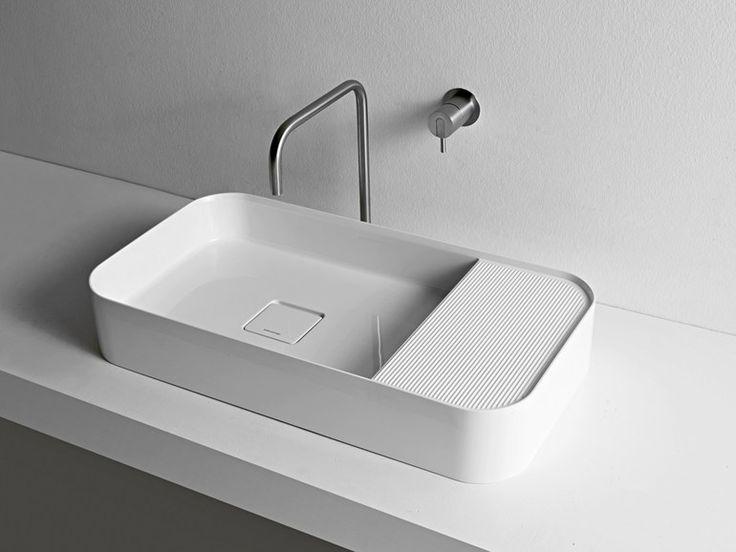 Countertop Ceramilux® Washbasin GRAFFIO38 Graffio Collection By Antonio  Lupi Design® | Design Mario Ferrarini