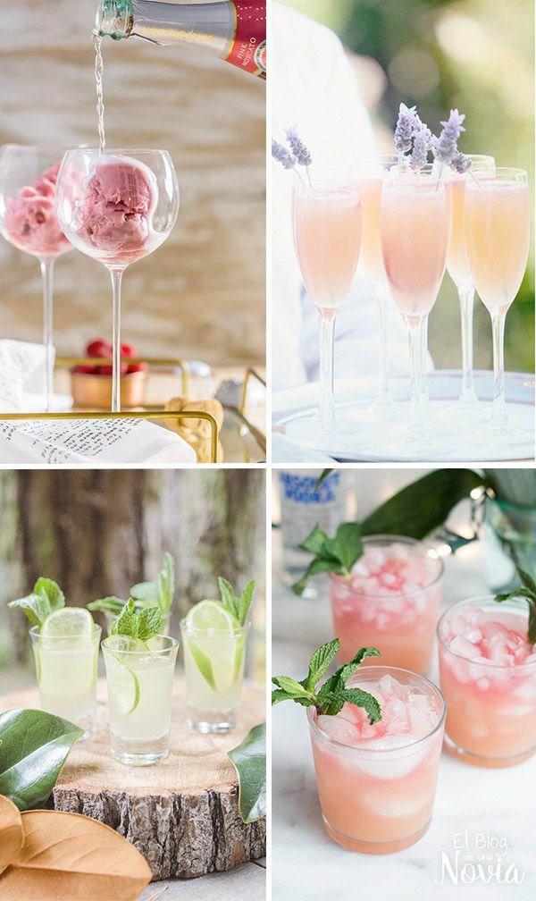 Cocktail de bienvenida: Ideas para que sea un éxito | El Blog de una Novia | #boda #fiesta