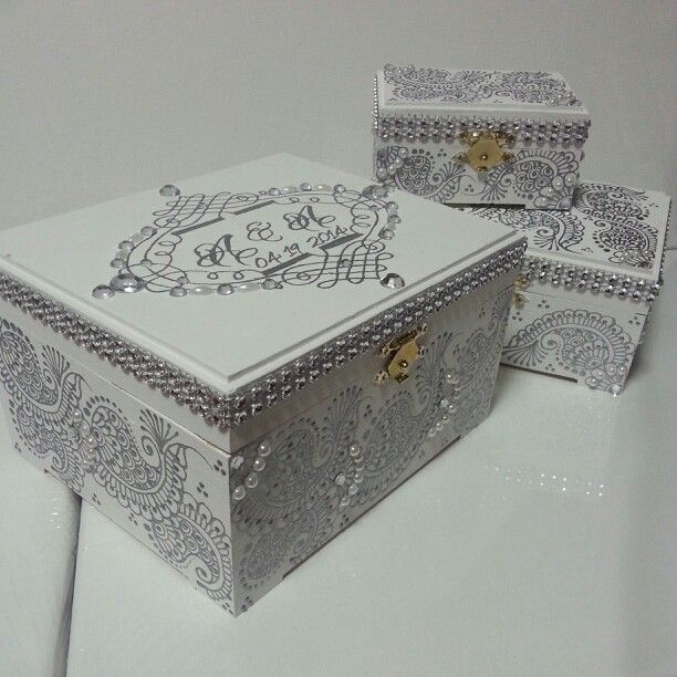 76 best personalized jewelry boxes images on pinterest for Jewelry box with initials