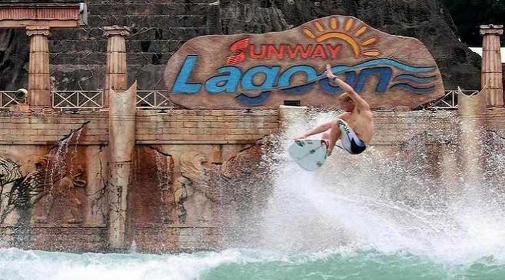 Top Malaysia Sightseeing Attractions - Sunway Lagoon,  a mixed bag of watery rides on offer and a lot of dry-area exercises as well.