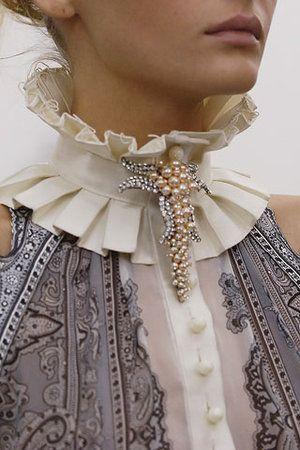 Actually modern  -  Balenciaga  -  but Victorian inspired