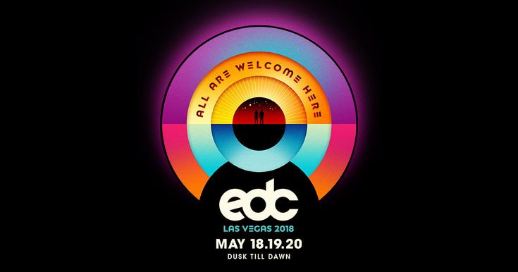 #tickets Electric Daisy Carnival 3-day wristbands 1-4 available EDC 2018 please retweet