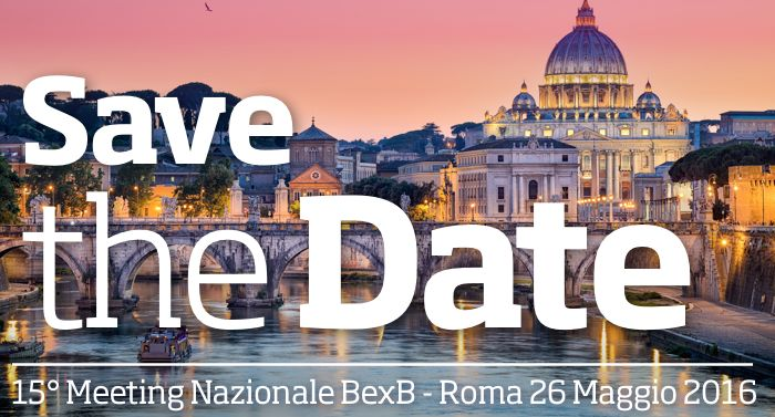 BexB - Meeting Nazionale a Roma - SAVE THE DATE