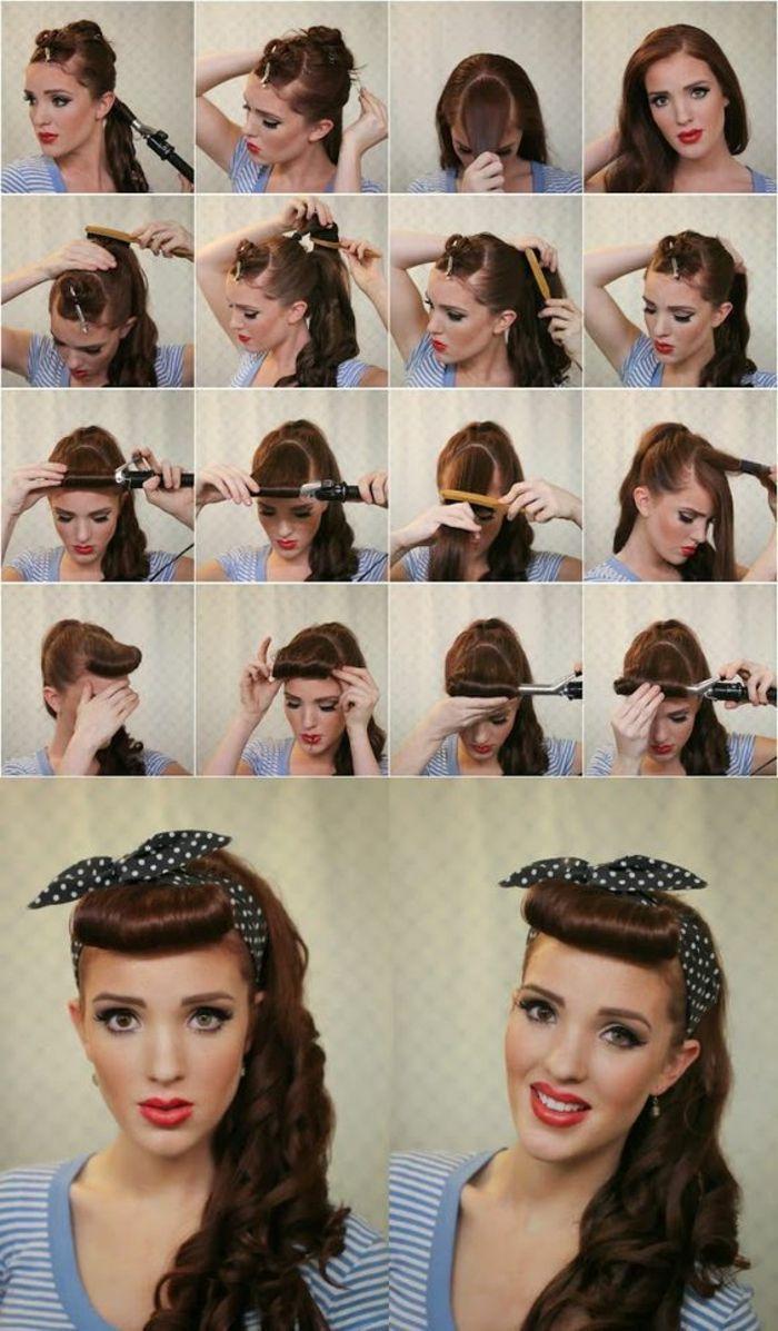 Pinterest In 2020 Scarf Hairstyles Hair Styles 50s Hairstyles