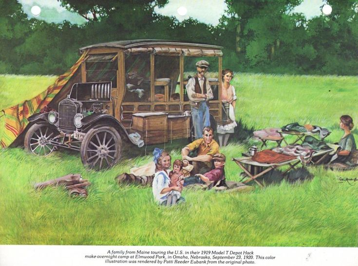 17 best images about model t technical stuff old model t ford forum model t auto camping art print