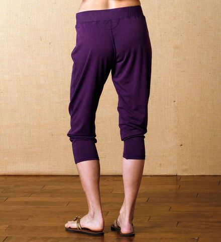 Harem Pant: Made from luxurious Sorona French terry, these are the perfect pair of pants for comfortable #meditation. Get it at http://www.gaiam.com/harem-pant/04-1101.html?utm_source=pinterest&utm_medium=socialmedia&utm_campaign=ptgaiamcom&extcmp=sm_pt_tc.