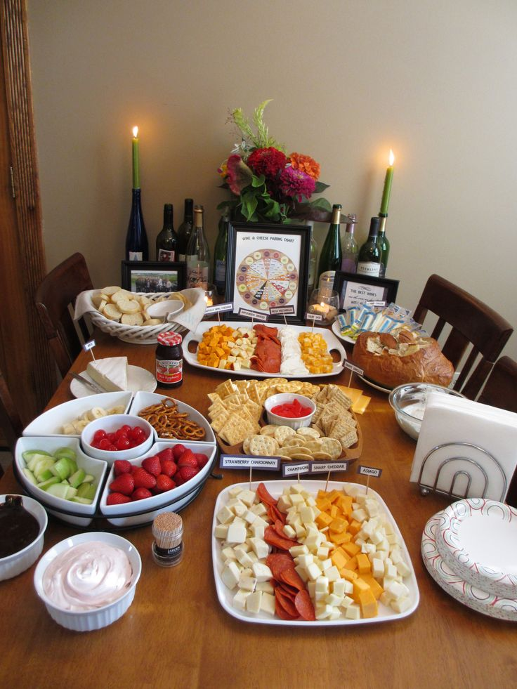 Wine and Cheese Party Ideas!  B Lovely Events