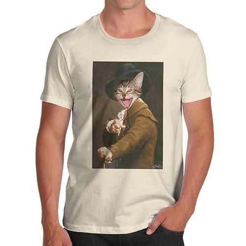 Joseph Ducreux Ca...  Rock In Style With Twisted Envy creative Art, Personalised Gifts, funny t-shirts & more,     http://twistedenvy.com/products/joseph-ducreux-cat-face-pointing-laughing-mens-t-shirt?utm_campaign=social_autopilot&utm_source=pin&utm_medium=pin