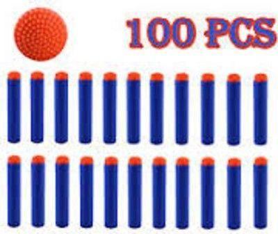 100 NERF Darts Toy Gun Refill Darts N-Strike Blasters Elite - SHIPPED From USA