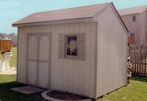 Menards Garage In A Box : Saltbox shed building plans or