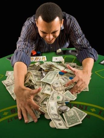 Image result for scooping poker chip winnings