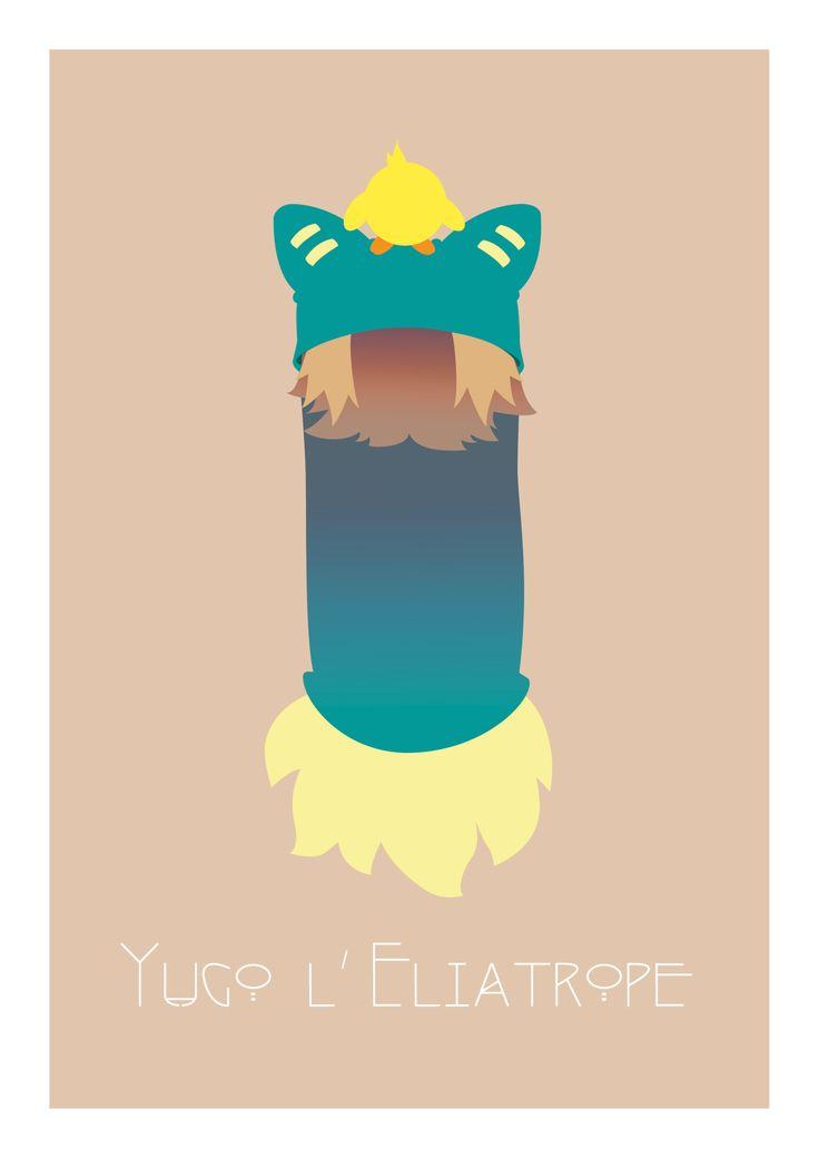 """ludivine-gouhier:  """" Projet personnel - Réalisation d'une galerie de portraits représentant les héros du dessin animé français Wakfu  © Ludivine Gouhier - 2016  © Ankama (personnages)  """"  Un petit projet perso que je reblogue de mon Tumblr pro' :)"""