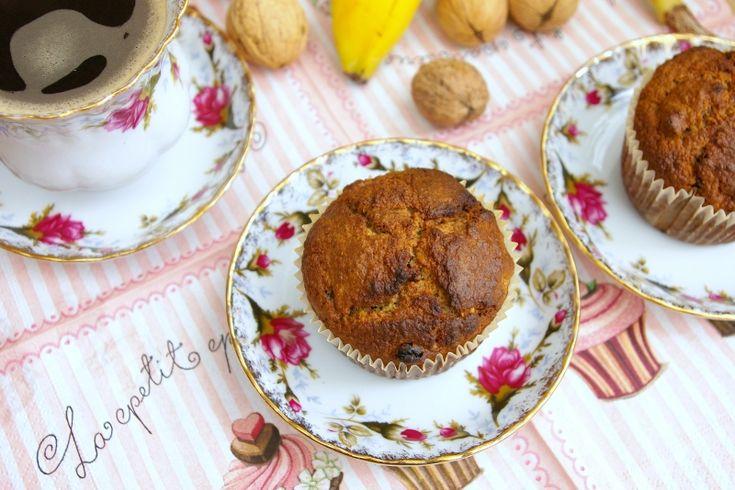 Dietetyczne Muffiny owsiano-bananowe