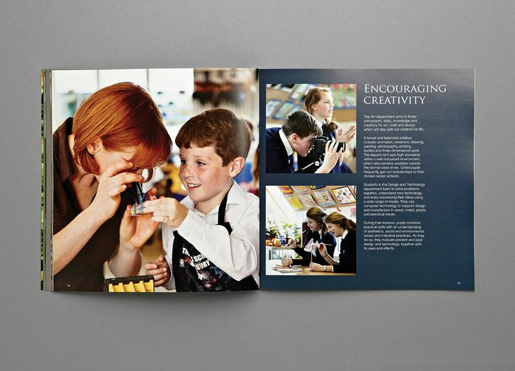 Junior Kings Prospectus- Creativity - Carr Kamasa Design - London