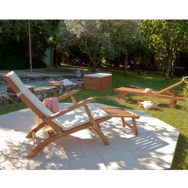 Bain De Soleil Bois Blooma Aland Bain De Soleil Bois Salon De Jardin