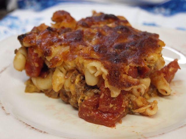 Original Johnny Marzetti recipe, history of the creator Teresa Marzetti and of the recipe, Ohio