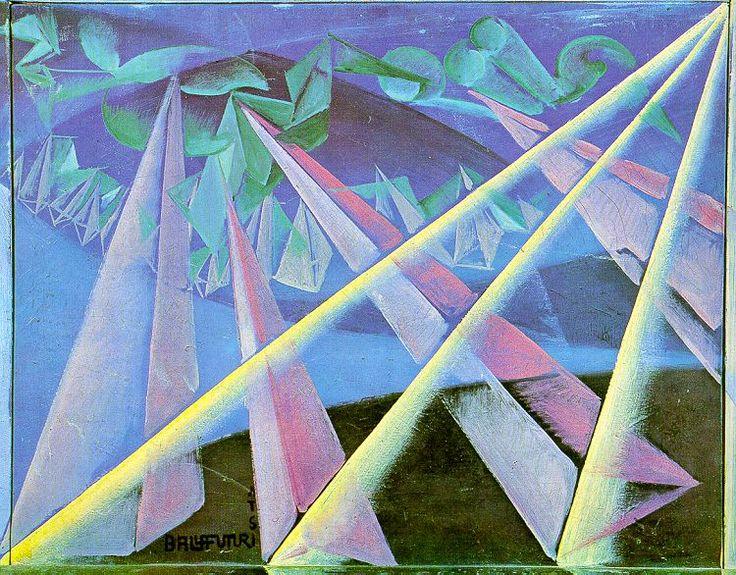 Spirit-form transformation, 1918 GIACOMO BALLA