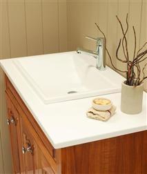Showerama Crest Drop-in Vanity Basin $399