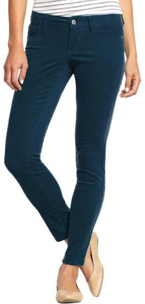 For Kaye's navy thin wale cords worn to the Shooting Star Children's Hospice Dec 6, 2013, these are the the Popcolor Skinny Cords in Blue at Old Navu