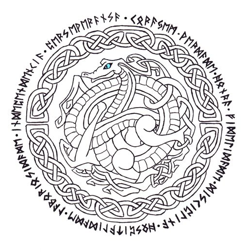 77 best images about Celtic Coloring Pages for Adults on Pinterest