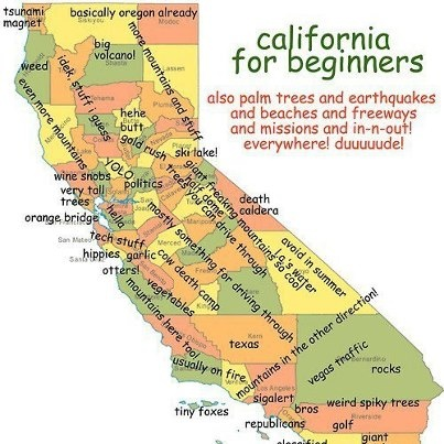 geographical references of California