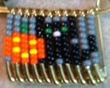 Beaded Friendship Pins