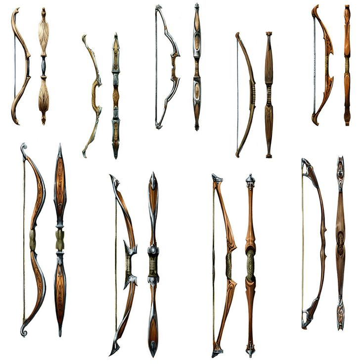 Bow Designs | Reference: Weapons | Pinterest | Bows ...