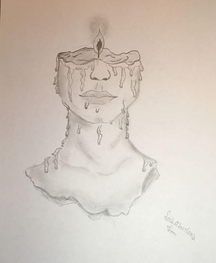 Zeichnung Person Kerze – #Kerze #Person #zeichnung