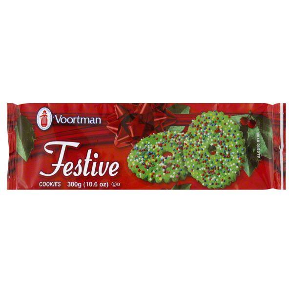 Voortman Cookies, Festive Image