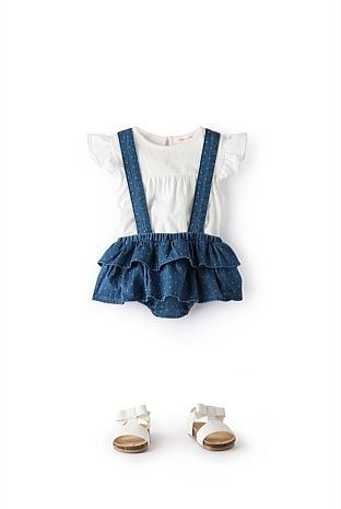 Ruffle Bloomer | Baby Girls 0-2