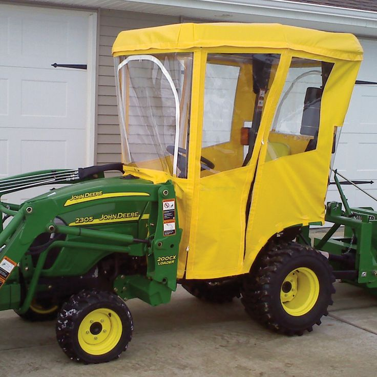 Tractor Cab for John Deere 1000 and 2000 Series Tractors (Requires Canopy - Canopy
