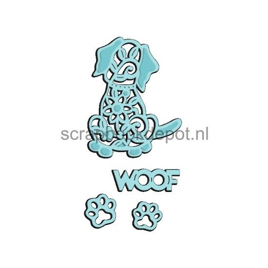 Sweet Dixie Mini Dies Woof
