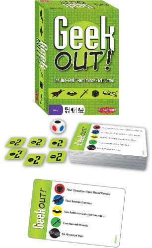 Party Game of Geeky Trivia - Geek Out! - Will you Geek Out! over comic books, fantasy, games, science fiction and more? - You don't have to be a geek (but it helps!).