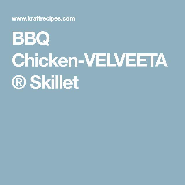 BBQ Chicken-VELVEETA® Skillet