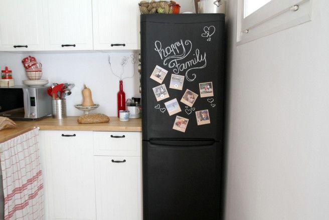 Refrigerateur Ardoise Souvenirs En Vrac Ardoise Relooking Meuble Refrigerateur