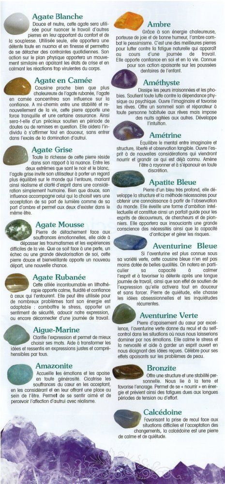 La signification des pierres (1)