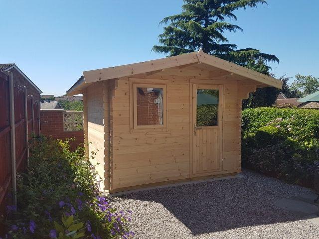 1000 Ideas About Garden Log Cabins On Pinterest Little