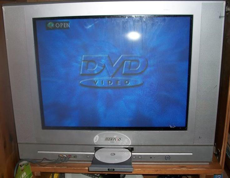 advent tv with built in dvd player in holm 39 s garage sale ft benning ga garage sale. Black Bedroom Furniture Sets. Home Design Ideas