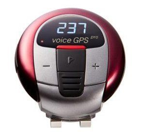 Voice Golf GPS/Rangefinder Units Pre-loaded 45,000 Courses Finder (No Download Fees - Burgundy) by Voice GPS Pro. $119.00. Voice GPS Pro is the latest in golf technology, allowing the golfer to keep track of distance through an LCD screen and a calm, soothing voice. With map information for over 45,000+ courses worldwide and a battery that last 12 hours, this weather proof device proves to be a great companion. Weighing in at an amazing 1.2 oz. this device allo...