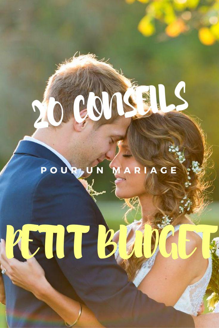 Retrouvez nos 20 conseils pour organiser un mariage petit budget !!!
