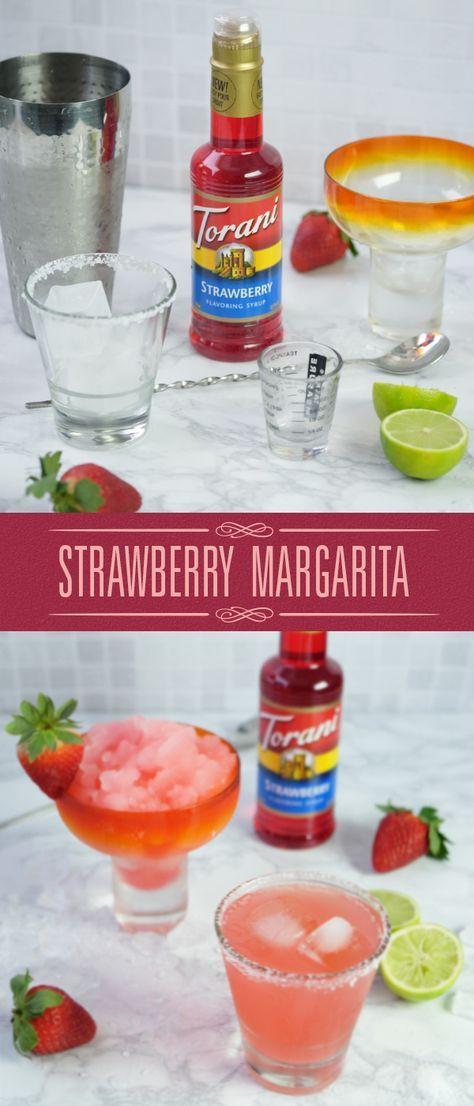 Torani's Strawberry Margarita is all you need to celebrate National Margarita Day!