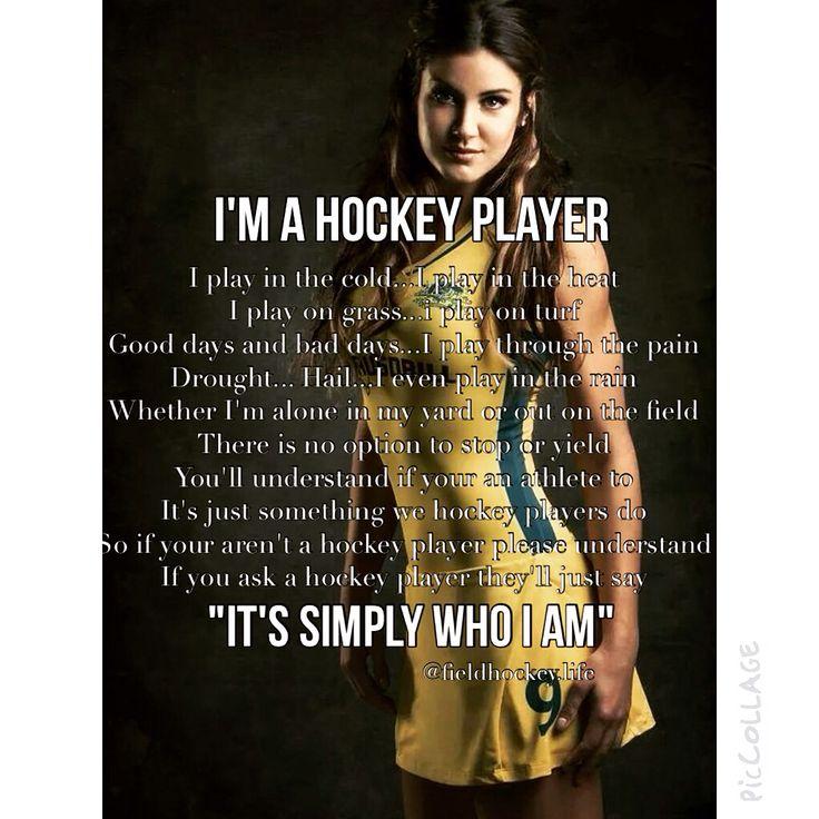 I am a field hockey player! #annaflanagan #hockeyroos #fieldhockey