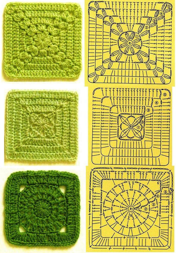 Squares, snowflakes, doilies galore #crochet