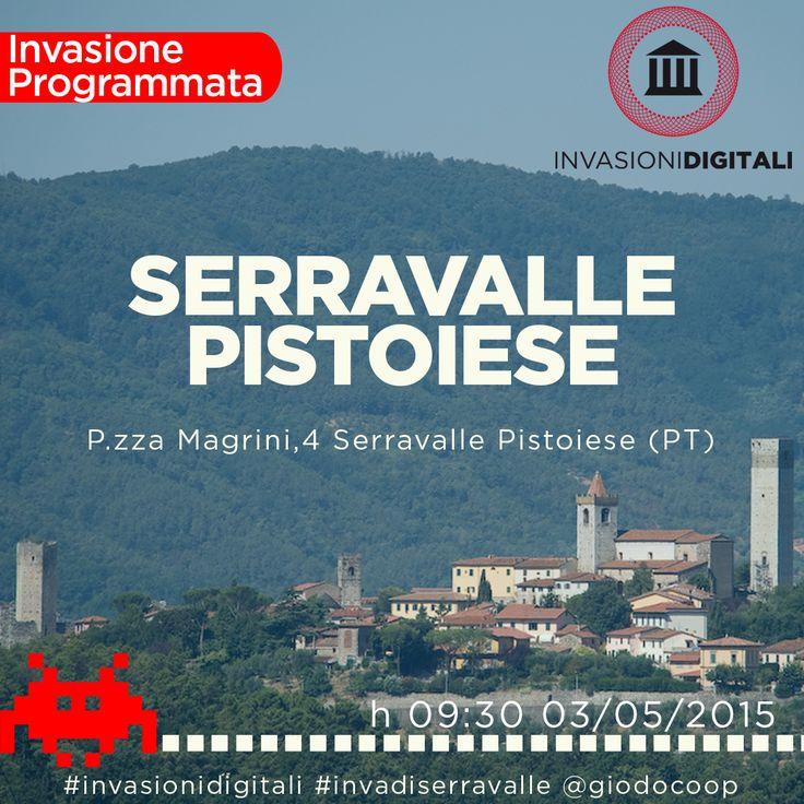 Invasioni digitali #invadiserravalle