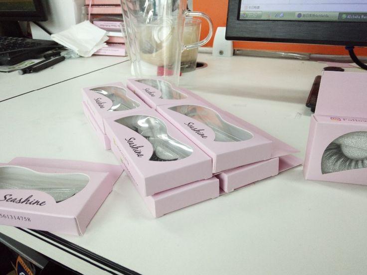 20 Pair New Fashion Real 3D Mink Full Strip False Eyelash Long Thick Eyelash Natural False Eyelash free shipping