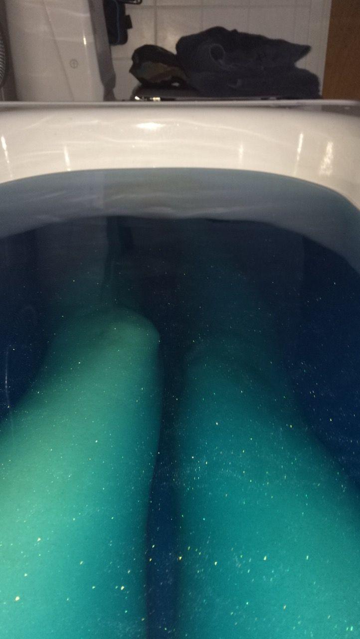 Galaxy bath #galaxy #bath #legs