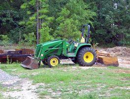 Tracteur John Deere Spécifications du moteur